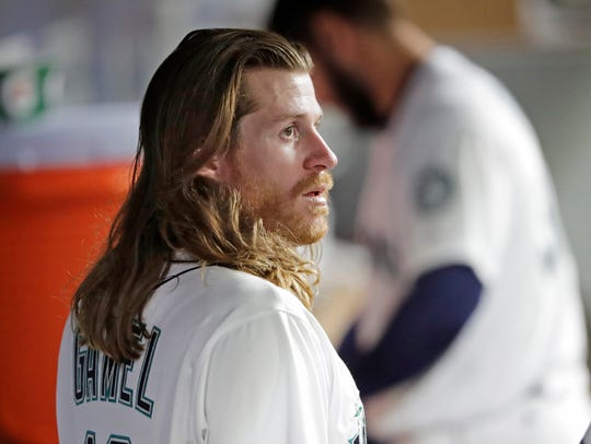 Ben Gamel has hit .326 since the Mariners acquired