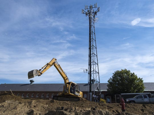 Vermont Public Radio is expanding its headquarters in Colchester, seen on Monday.