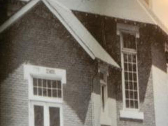 photo of reed school in museum
