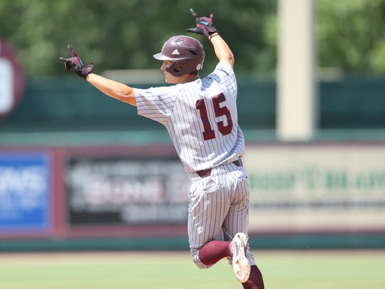 Jake Mangum and the Mississippi State Bulldogs made it to Omaha for the College World Series last year after an improbable run.