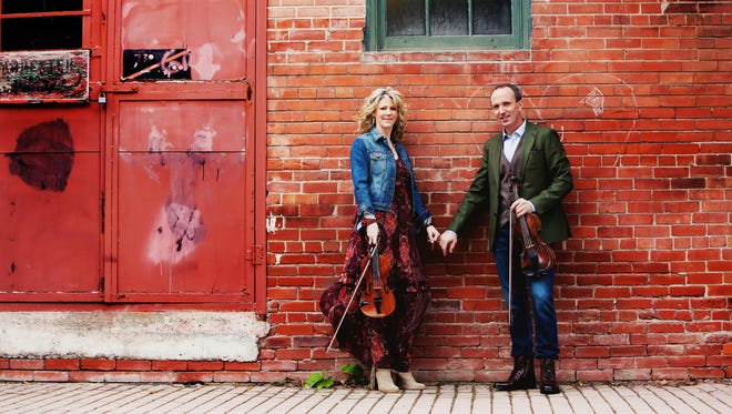 Natalie MacMaster and her husband and fiddler Donnell Leahy will play a show at Wharton Center on Thursday, Feb 8.