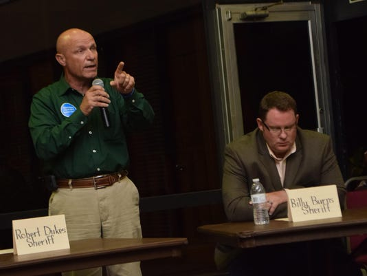 A Coalition of the Public Forum which featured ten candidates running in the Louisiana senate and house, the Rapides Parish Police Jury and sheriff races was held Thursday evening at the Pineville Community Center.