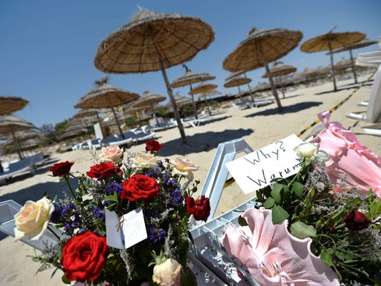 EPA EPASELECT TUNISIA ATTACK AFTERMATH WAR ACTS OF TERROR TUN
