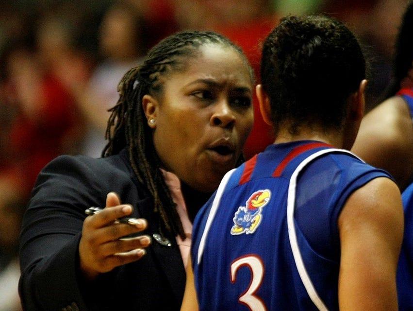 Former MSU assistant Aqua Franklin accepts an associate head coaching position at Kansas.