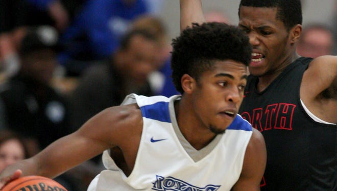 Noah Smith scored 21 points for HSE in the team's 75-67 overtime win against FW North Side