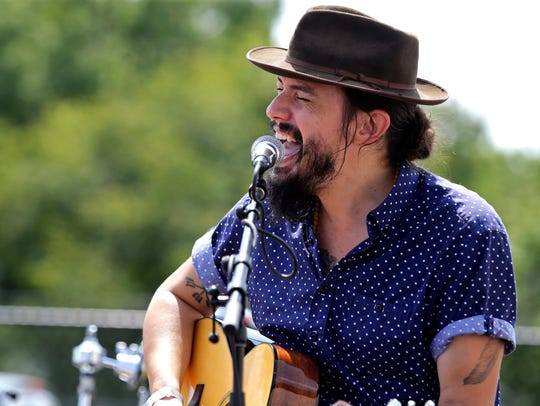 Cory Chisel will perform Saturday and Sunday at the Lawrence Memorial Chapel. He'll also play at Saturday afternoon at the Bike to the Beat post-ride party.