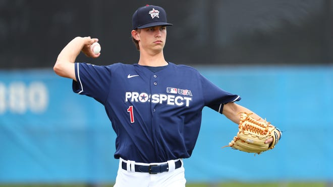 MLB.com projects the Red Sox to select Mick Abel, a right-handed pitcher out of Jesuit (Oregon) High, with the 17th overall pick in the 2020 MLB Draft.
