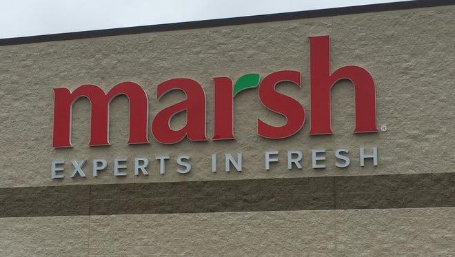 Marsh Supermarkets on Tillotson Avenue in Muncie.