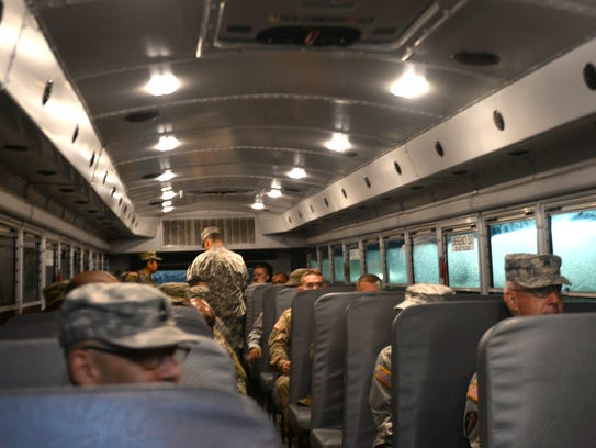 The 119th Combat Sustainment Support Battalion departed