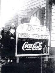Bury's Famous Hamburgers had as many as 11 locations