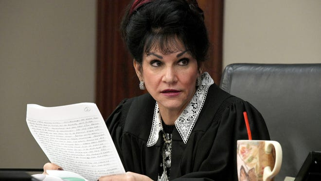 "Judge Rosemarie Aquilina addresses a six-page letter to her from Larry Nassar complaining of having to ""sit through a four-day media circus."" Judge Aquilina had no sympathy for the convicted felon."