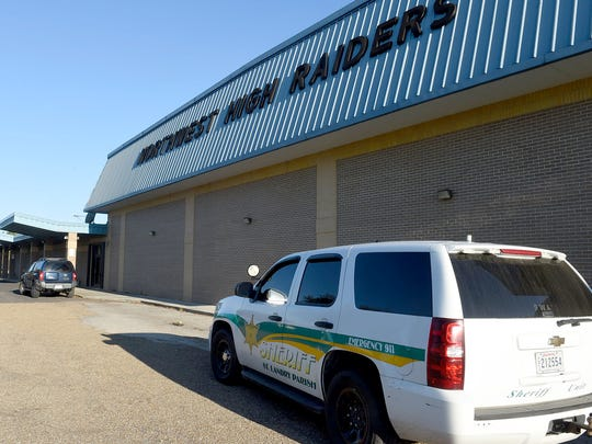 A threat on social media led to a search of Northwest High School in Opelousas.