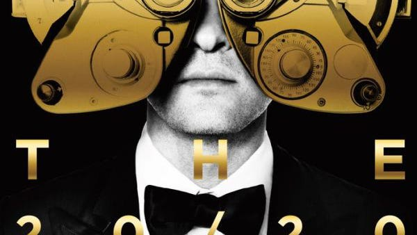 The 20/20 Experience - 2 of 2 by Justin Timberlake, CD cover.