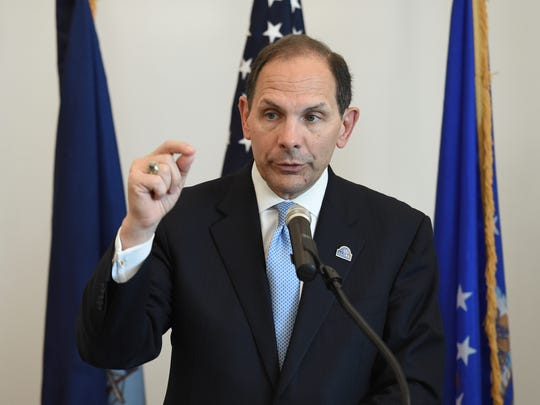 VA Secretary Robert McDonald in Reno on Tuesday
