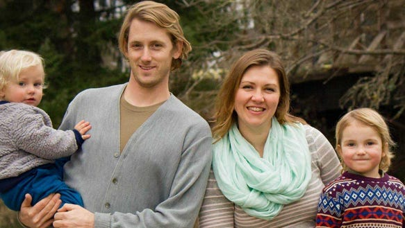 Homeschool teacher Leah McDermott lives with her husband