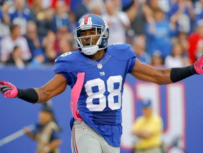 """The last time  Hakeem Nicks played with so much offensive talent, the former Giant says, """"I won a Super Bowl."""""""