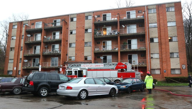 A fire broke out at the Kings Tower Apartments in Madisonville shortly before 6 a.m. March 26. Several fire companies responded.  It went to a 4-alarm after a firefighter fell down the elevator shaft while trying to rescue residents. He later died at University of Cincinnati Medical Center.