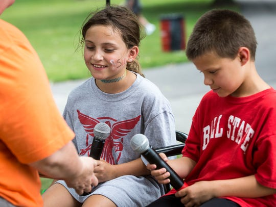 Community members take part in an array of activities at Ball State University during the 2018 Community Campus Experience.