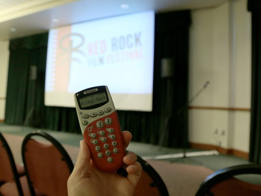 The Red Rock Film Festival uses electronic voting instruments