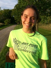 Green Bay East senior Maddy Sweeney is aiming to advance to the WIAA state cross country meet for a fourth time this year.