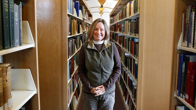 Deb Duguid-May, who grew up in South Africa under apartheid, will be a participant in the Human Library event Saturday at the Rochester Central Library. She will get to tell her story.