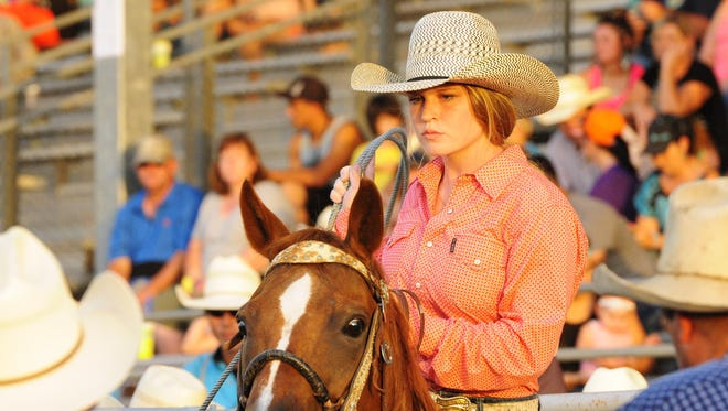 Prattville's Haley Polk, 16, is participating in the 24th annual International Finals Youth Rodeo in Shawnee, Oklahoma, this week.