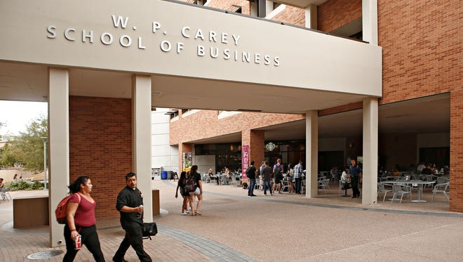 The W.P. Carey School of Business at Arizona State University has now received more than $75 million from the W.P. Carey Foundation and is named for William Polk Carey, a New York real estate investor.