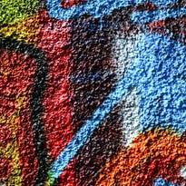 Murales, colori e vernice