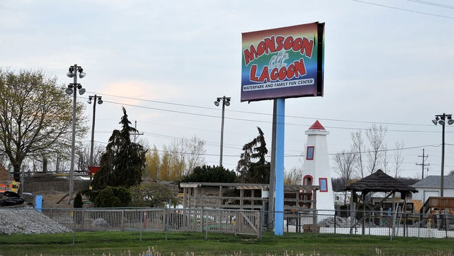 The owners of Monsoon Lagoon have applied for a permit to construct a tent for a petting zoo.