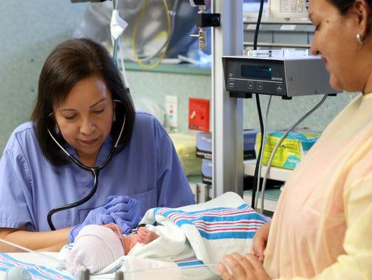 GABE HERNANDEZ/CALLER-TIMESNeonatal nurse practitioner