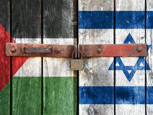 Israel Palestinians stock