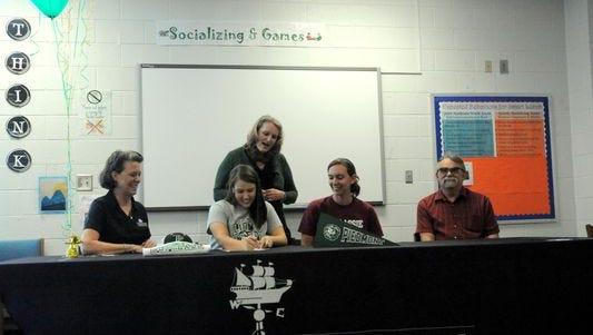Owen senior Alivia Brigman will play college softball for Piedmont (Ga.).