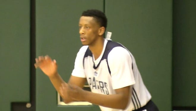 IU forward Troy Williams worked out for the Pacers on Tuesday.