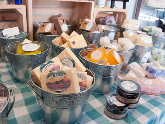 Back in Thyme has a variety of handcrafted soaps and