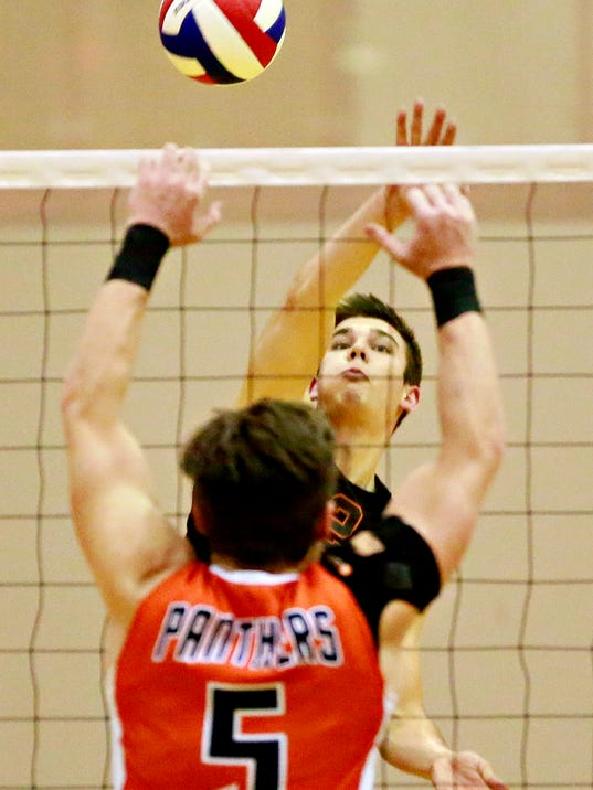 Central York vs Northeastern boys volleyball