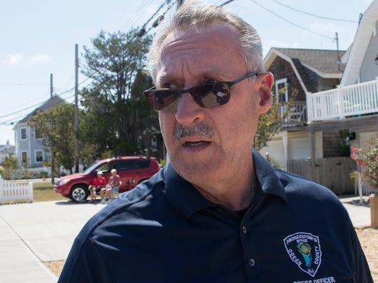 Former Ocean County Prosecutor spokesman Al Della Fave.