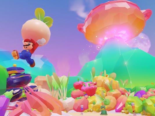 Super Mario Odyssey turnip.