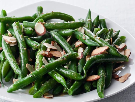 Green Bean Almandine from Fresh Fit Foods.