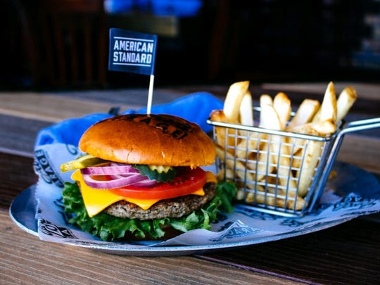 Ford's Garage can make any of its burgers with a meatless Impossible Burger patty.