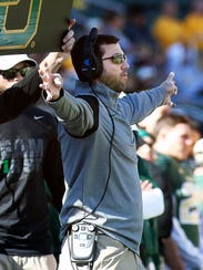 Kendal Briles remained at Baylor after his father's