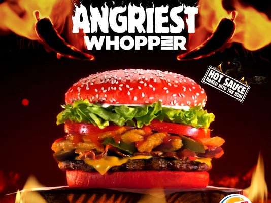 do you dare burger king red bun whopper is here