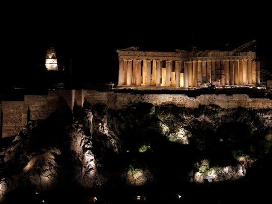 AP GREECE EARTH HOUR I GRC