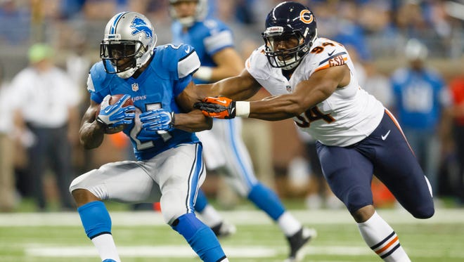 After missing Week 3, Lions RB Reggie Bush was too much for the Bears in Week 4.