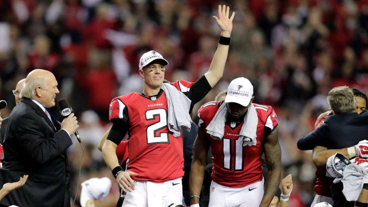 Atlanta and New England will face off in Houston after winning the NFC and AFC championships, respectively.