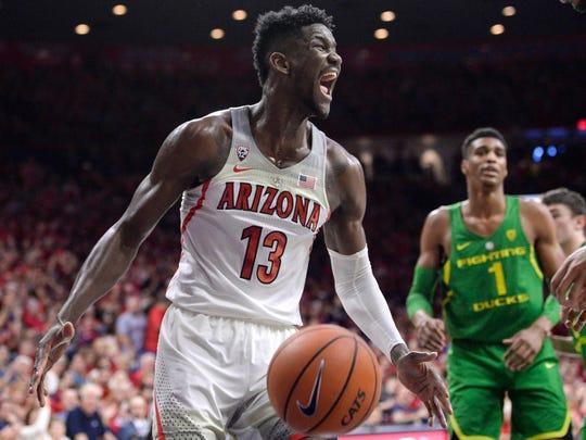 1. Suns (21-61): C Deandre Ayton, 7-0, 260, Arizona