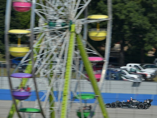 Drivers need to avoid the ferris wheel in Milwaukee.