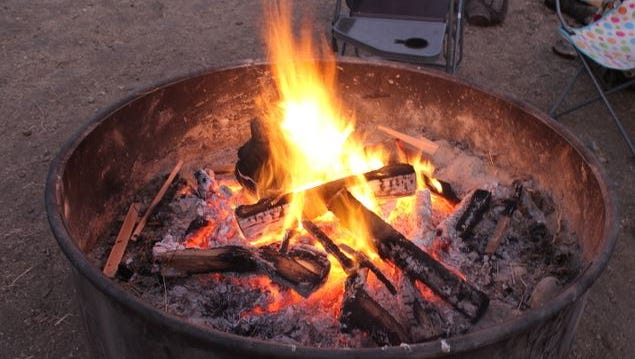 Campfires are again allowed in state parks on the Oregon Coast.