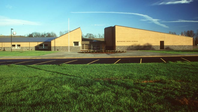 This is a 2001 photo of Raymond High School.