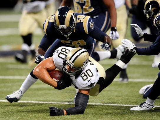 Saints Rams Football (2)