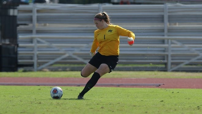 Franklin native and MTSU goalkeeper Kelsey Brouwer was named C-USA defensive player of the year.